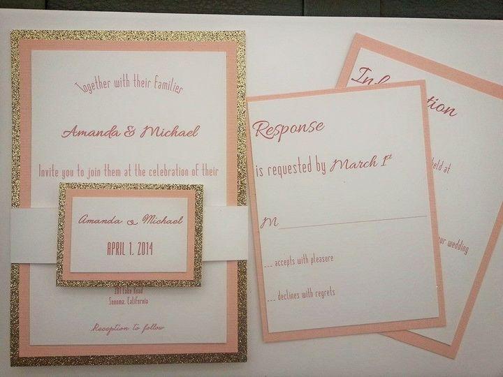 Tmx 1395949164257 1450676491466884296395467193984 Roseville, CA wedding invitation