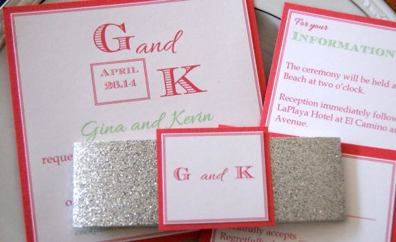 Tmx 1395949174193 Coral And Min Roseville wedding invitation
