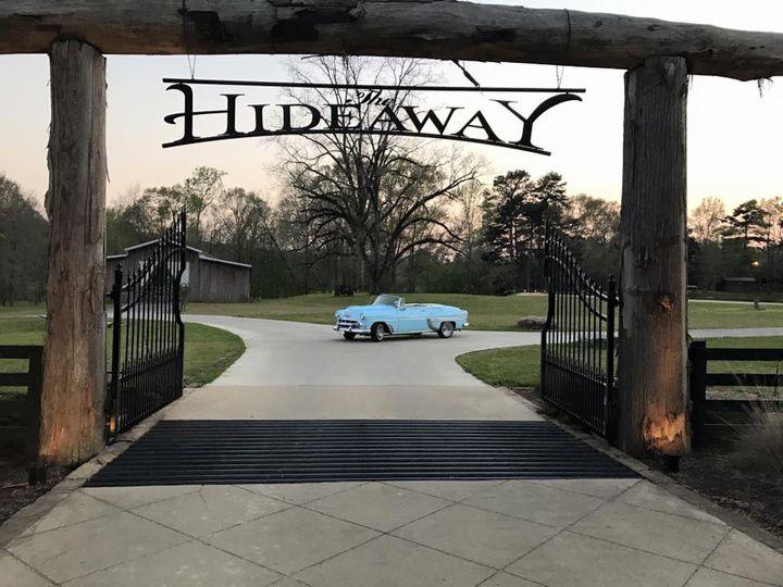 Hideaway entrance