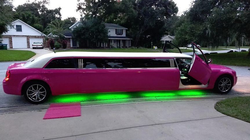 Daytona Pink Limos