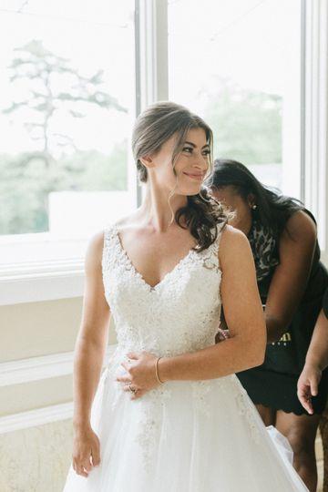 Cherish helping bride