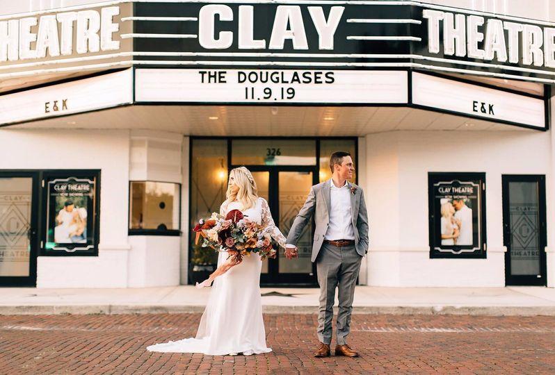 Clay Theatre Wedding