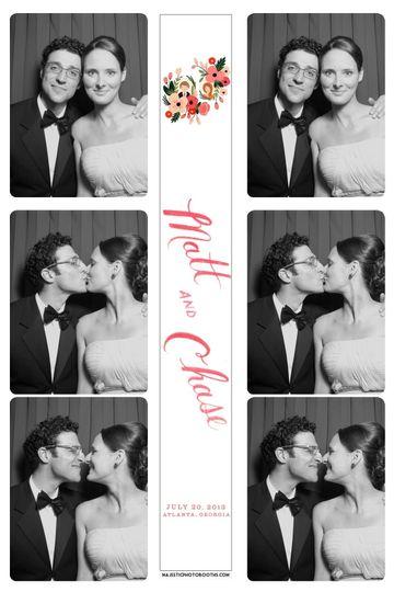 b w wedding