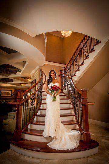 Bride's portrait