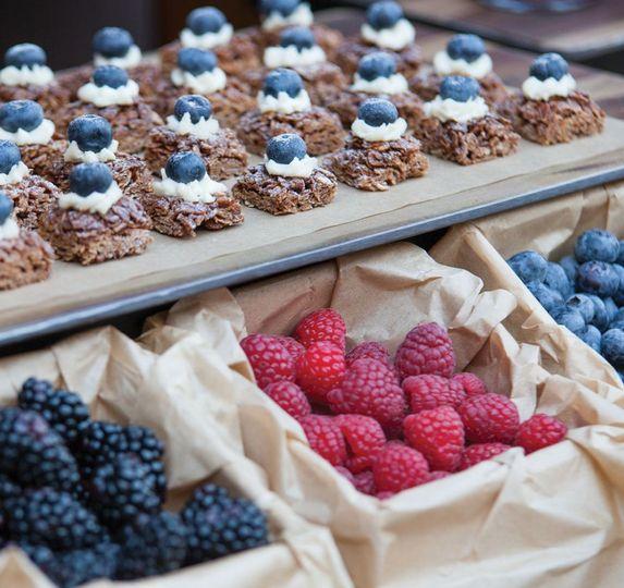 Sweets for dessert