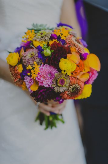 sara jared bridal bouquet 2