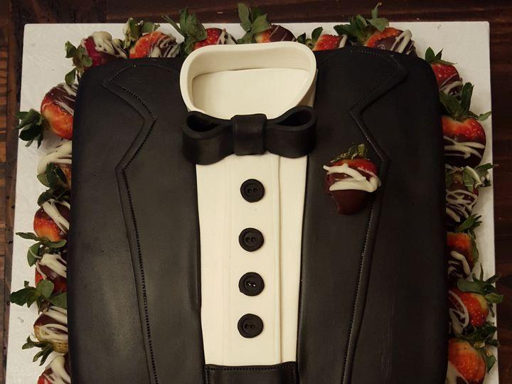 Tmx 1478110460576 Grooms Katy, TX wedding cake
