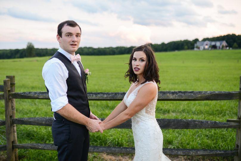 A farm wedding