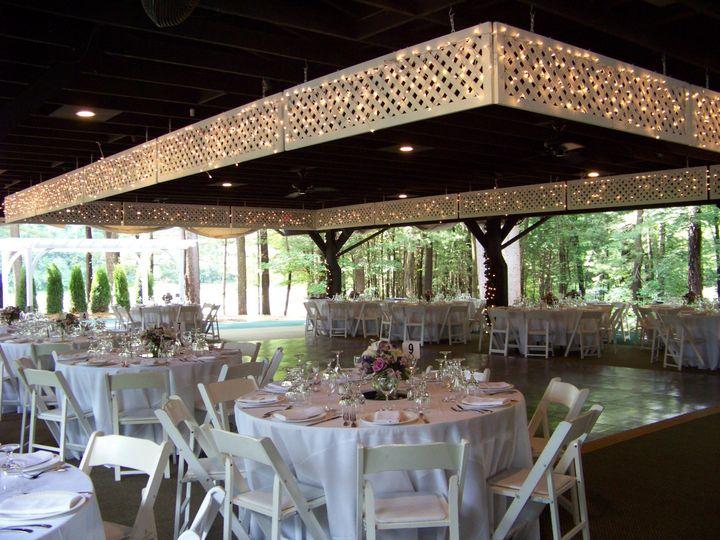 Pavilion Reception Tables