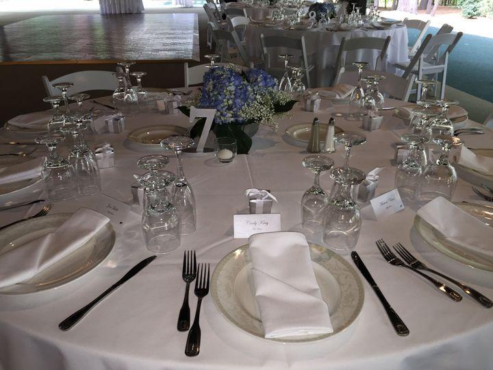 White on White Table Setting
