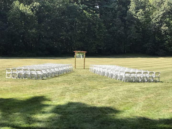 Field Wedding Ceremony Option