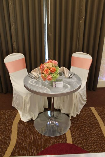 Chairs for the couple