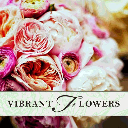 wedding wire iconvibrant flowers