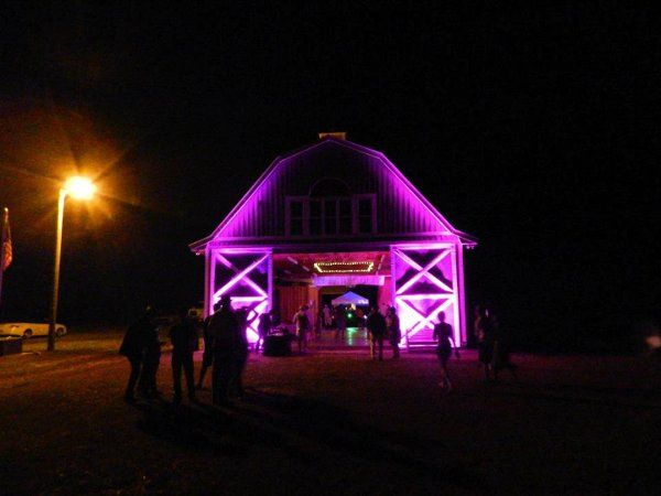 We can even uplight a barn!