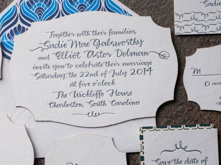 Tmx 1389372326188 Tallmossen09 576x57 Chapel Hill wedding invitation