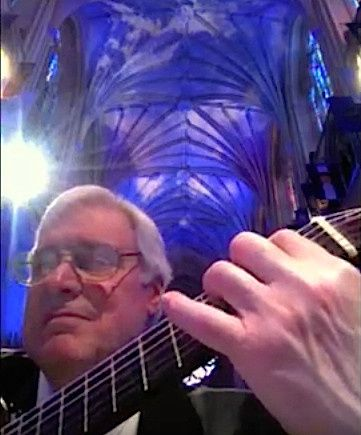 Playing at The National Cathedral. A Spectacular Place.