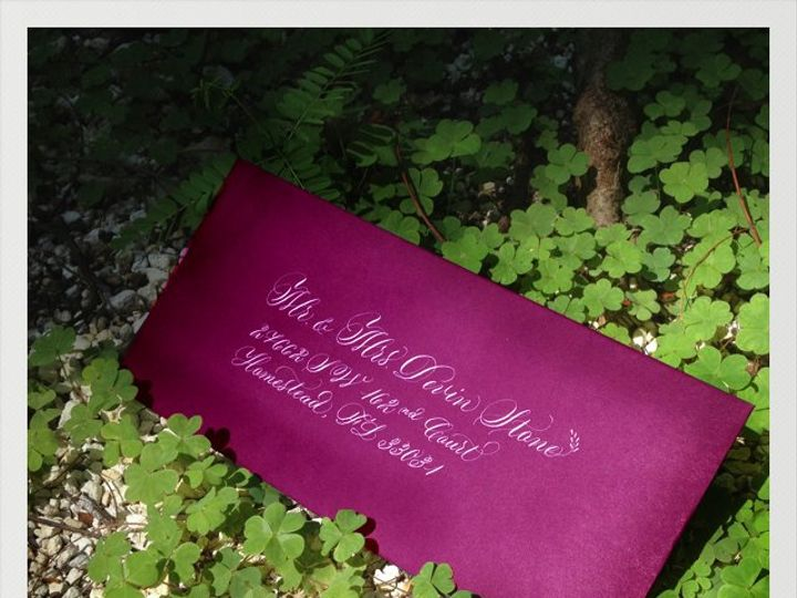 Tmx 1360952953619 Photo Miami wedding invitation