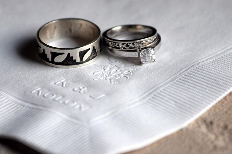 """The rings that seal the """"I do"""""""