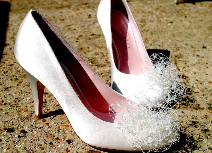 Bride's heels