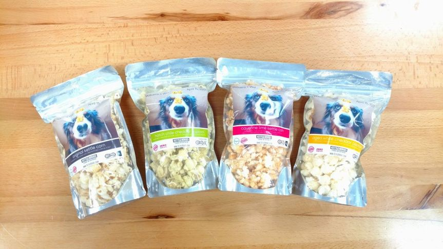 Custom popcorn favors - multiple flavors