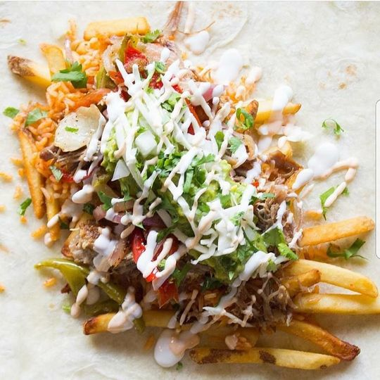 Fries tacos