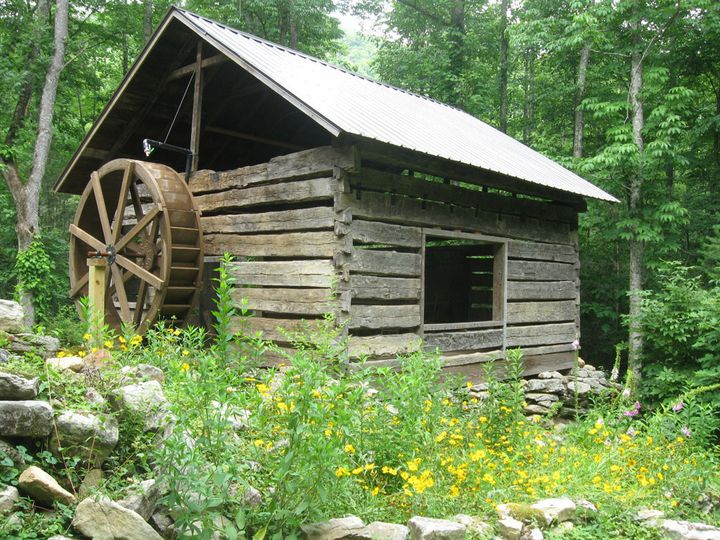 Old Gristmill at Laughing Waters