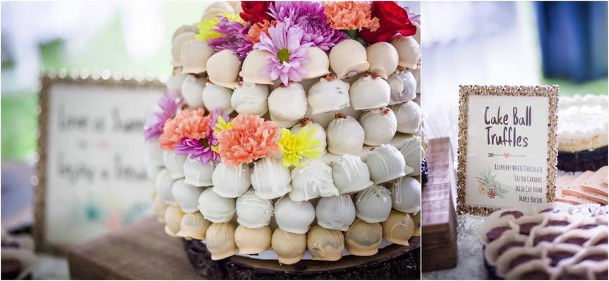Rustic Sweets Table Design