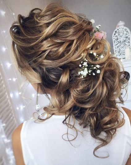 Wedding hair look