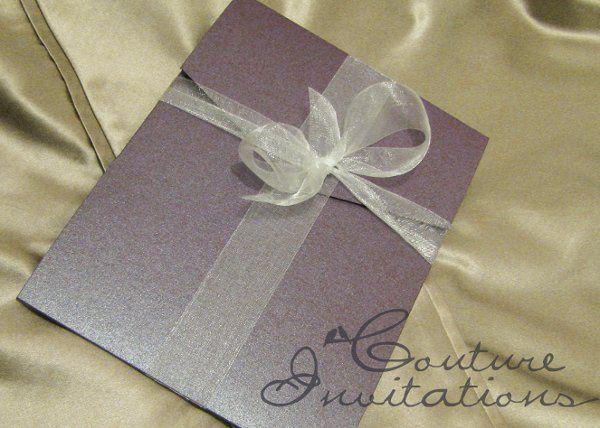 plum gold invites couture invitations