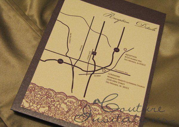 Tmx 1259097949044 Plum.gold.invites.couture.invitations4 Urbandale wedding invitation