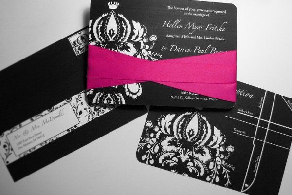 Tmx 1259097978466 1 Urbandale wedding invitation