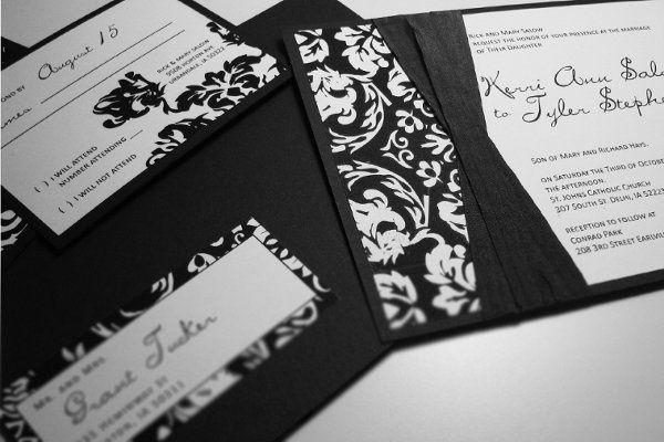 Tmx 1259098023185 Black.white.damask Urbandale wedding invitation