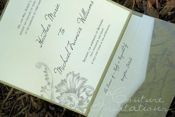 Tmx 1259098075966 Gold.ivory.floral.invite Urbandale wedding invitation