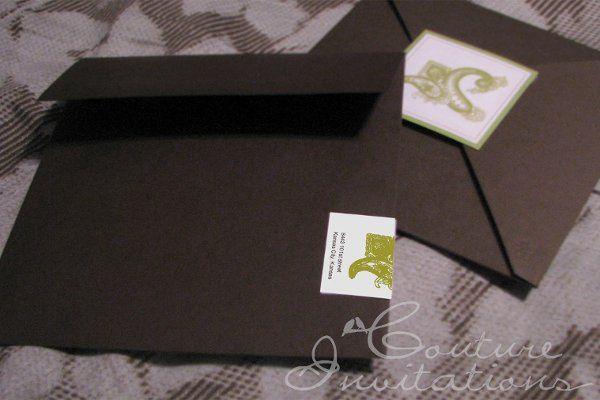 Tmx 1259098093028 Savethedate.green.paisely.3copy Urbandale wedding invitation