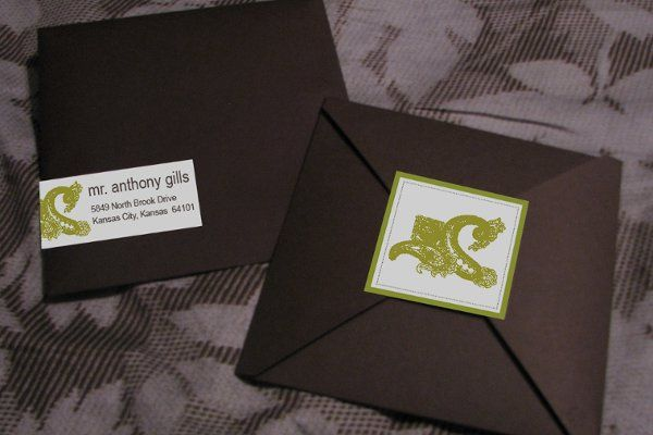 Tmx 1259098106747 Save.the.date.green.paisely.2 Urbandale wedding invitation