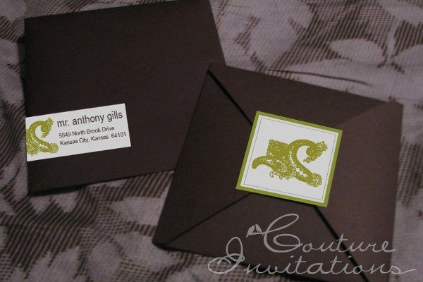Tmx 1259098109669 Save.the.date.green.paisely.2copy Urbandale wedding invitation