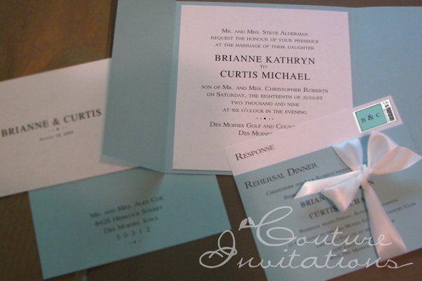 Tmx 1259098130107 Tiffanys.inspired.4 Urbandale wedding invitation