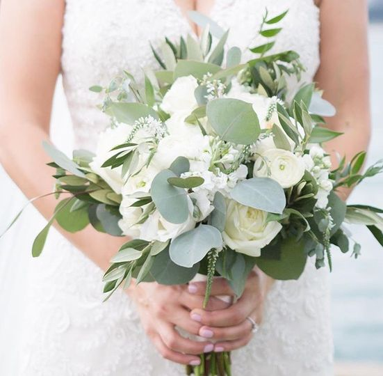 Loose Tied Bouquet