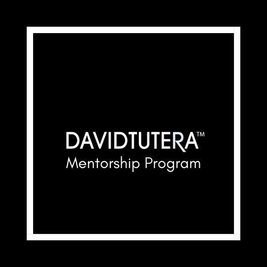 David Tutera Mentorship Mentee