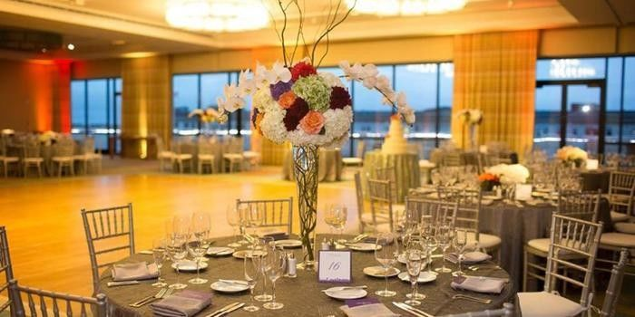 Pin Spot Lighting enhances your Centerpieces in Harborview!