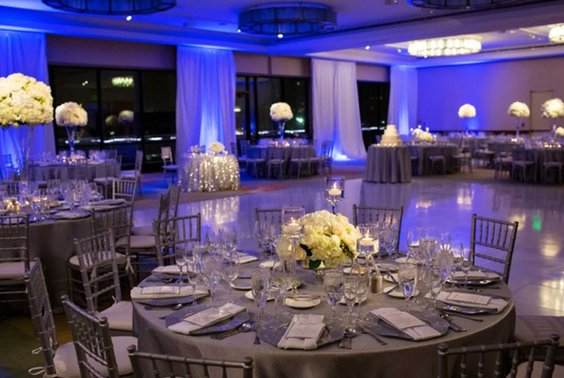 Dinner & Dancing with a Classic Silver Chic look in Harborview
