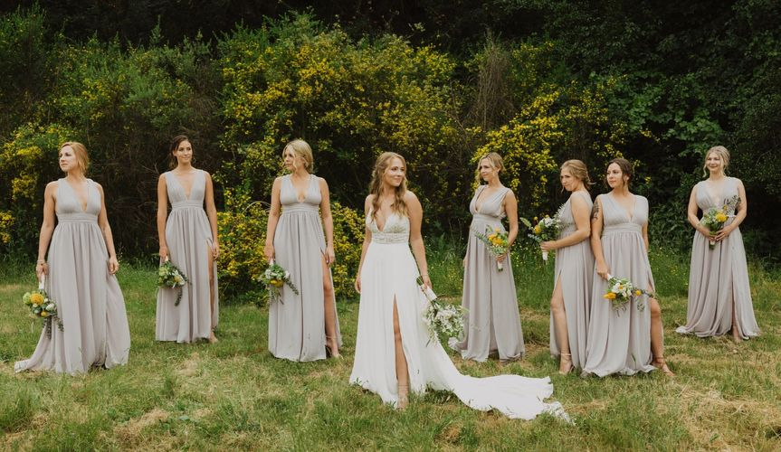 Monterey Wedding: Bridal Party