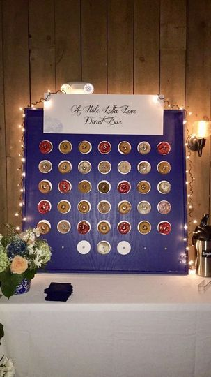 A donut wall for late night snack? Yes please!