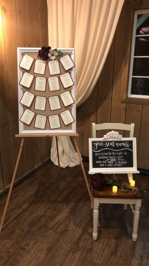 There are so many unique ways to create your escort cards.