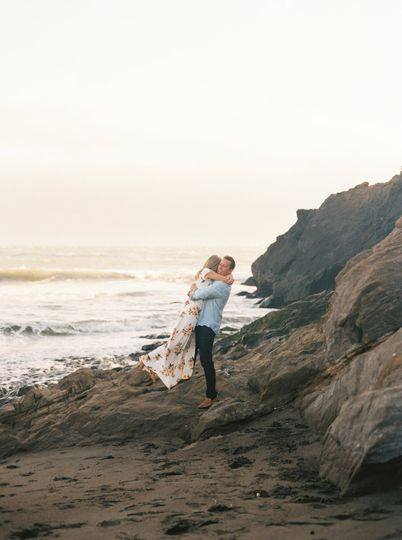 Say yes by the sea - Jenny Losee Photography