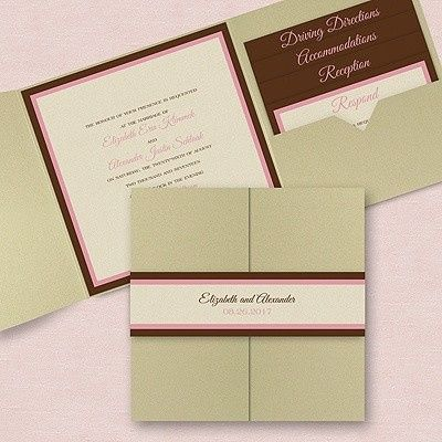 Tmx 1384883630468 Pocket  Wayne, New Jersey wedding invitation