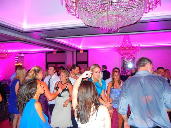 Packed Dance Floor at the Hills Hotel in Laguna Hills