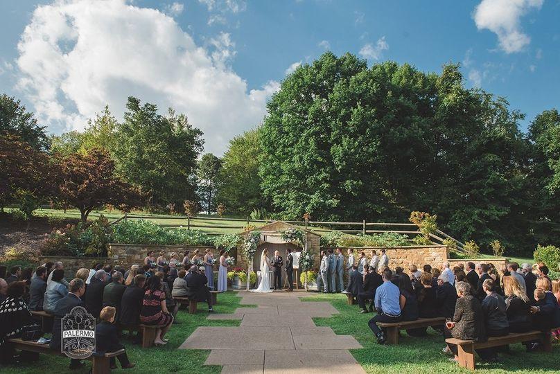 Ceremony in Celebration Garden
