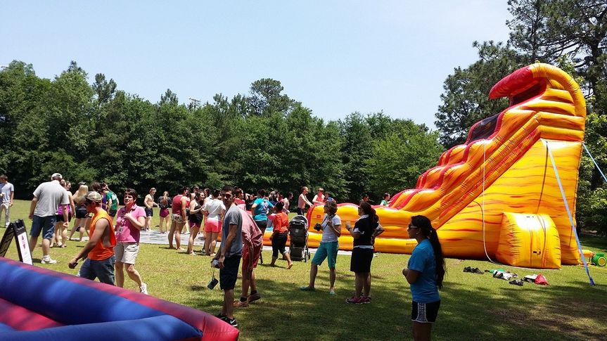 inflatable water columbia sc
