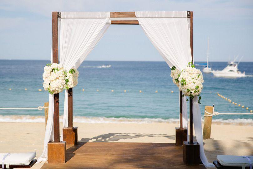 Hacienda Cocina y Cantina - Beach Ceremony